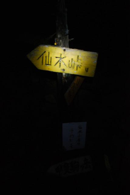 甲斐駒_登山道_仙水峠