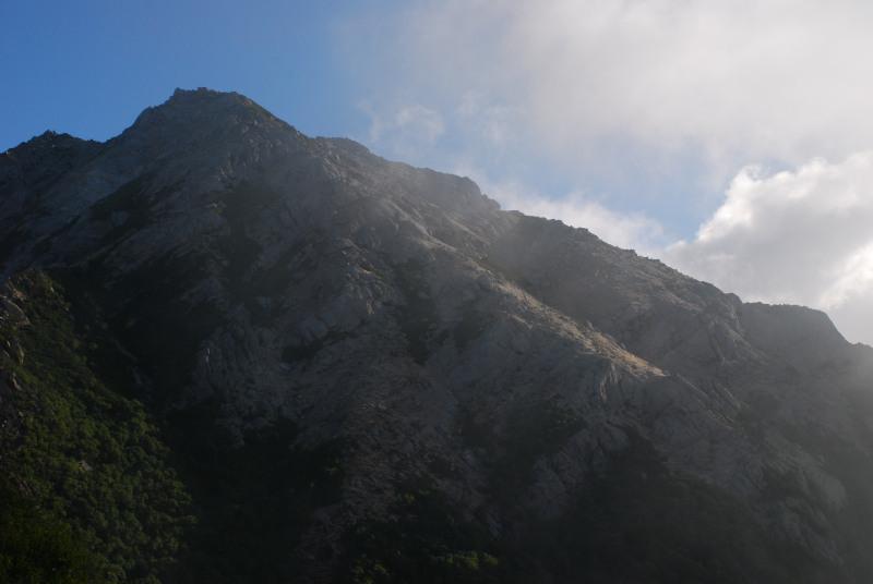 甲斐駒_登山道