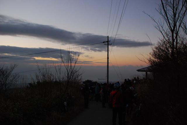 六甲山_初日の出
