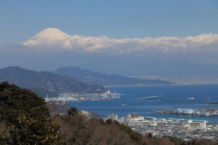 日本平から富士山-Ss