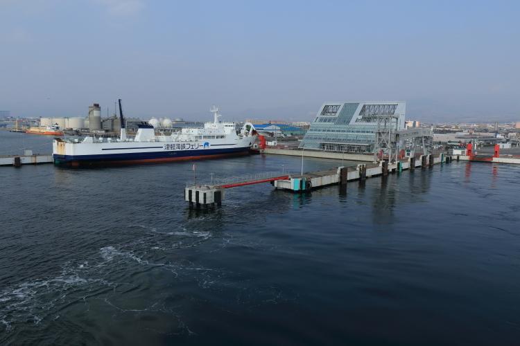 津軽海峡フェリー乗り場-Ss