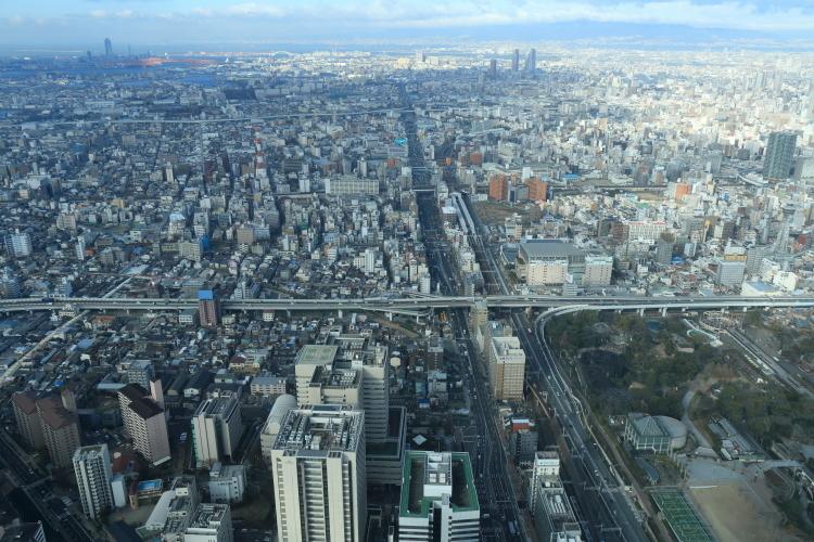 西方向、阪神高速松原線-S