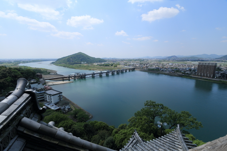 犬山城からの眺め1-S