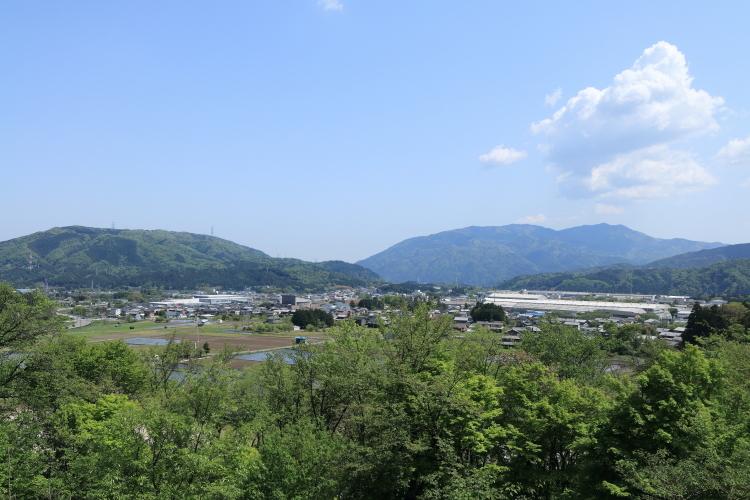 笹尾山からの風景-SA
