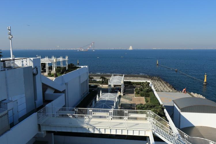 海ほたるから羽田空港方向-SA