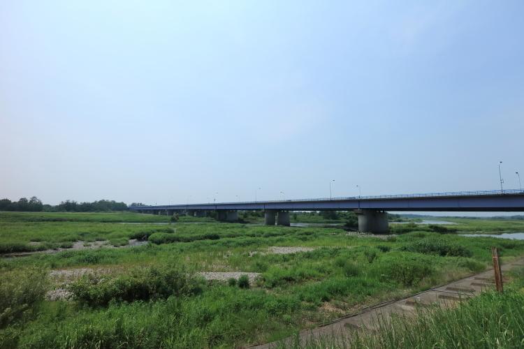 熊谷市の荒川-SA