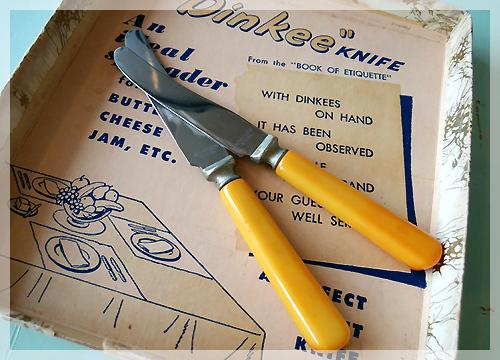 ベークライト ナイフ