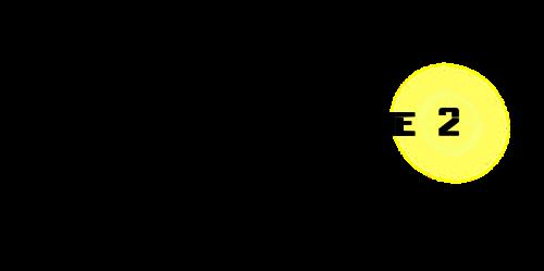 スコープ黒ネオン黄