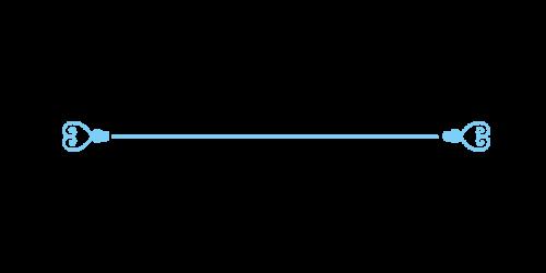 ハートライン黒mizu