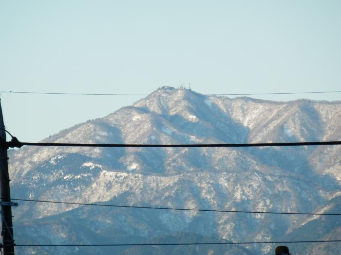 3大山真っ白だね