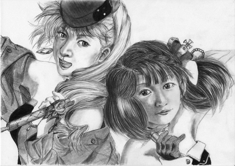 シェリルとランカ