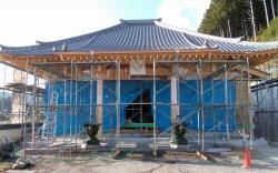 浄土寺伽藍復興工事 20171104 5