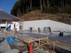 浄土寺庫裡基礎工事 20171221 1