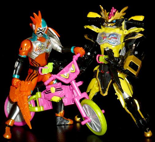 仮面ライダーエグゼイド ダブルアクションゲーマー レベルXX R&仮面ライダーレーザー チャンバラバイクゲーマー レベル3