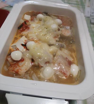 キムチーズ鍋
