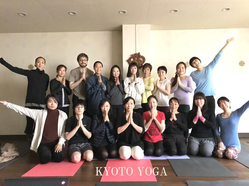 12月の太陽礼拝108回ワークショップ2017年 京都ヨガ・IYC京都