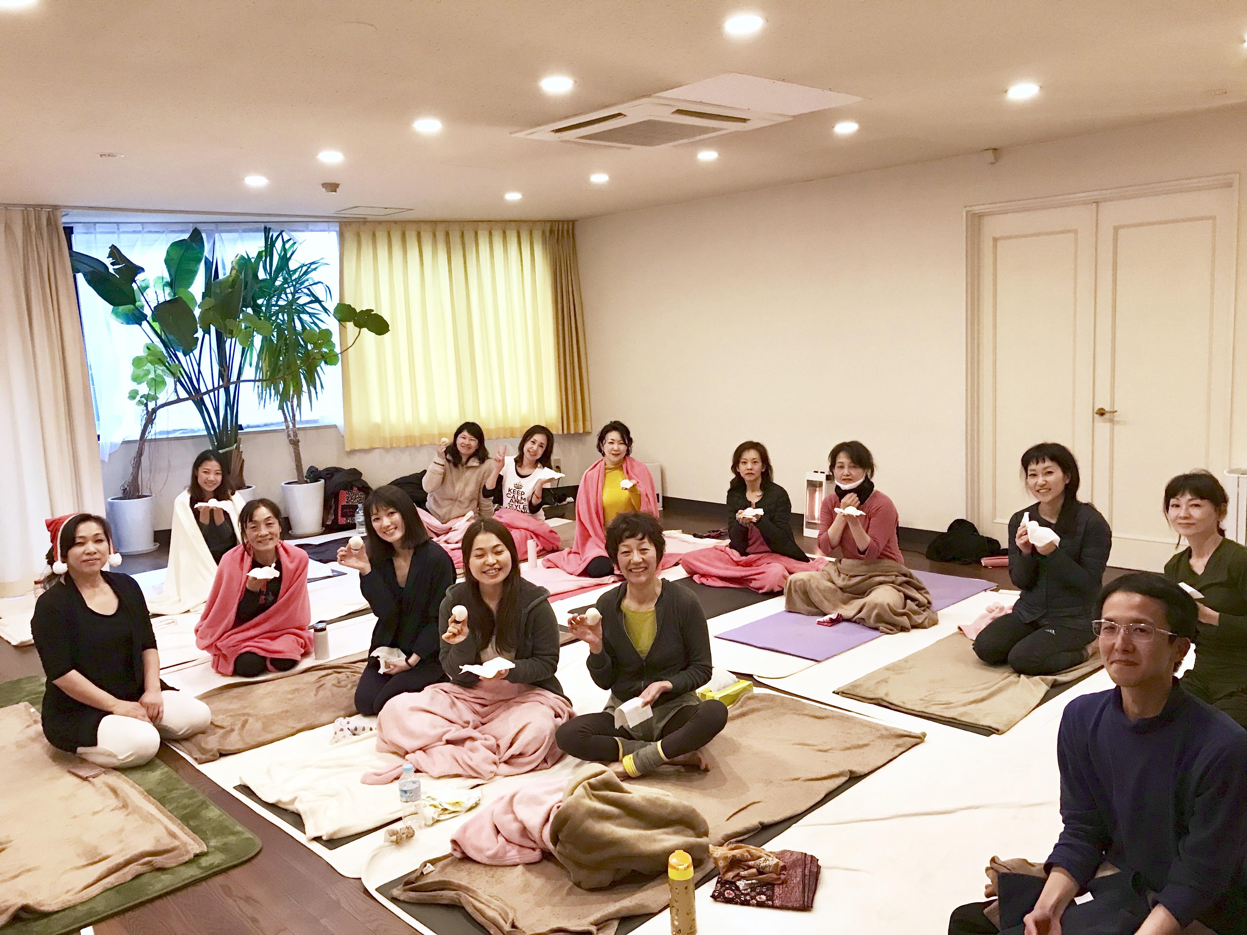 12月のプチクリスマス会 2017年 京都ヨガ・IYC京都