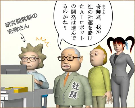 3Dキャラ漫画AI(人工知能)ロボット①1
