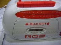 HELLO KITTY AM.FMラジカセRM-190KT(W)重箱石03