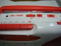 HELLO KITTY AM.FMラジカセRM-190KT(W)重箱石15