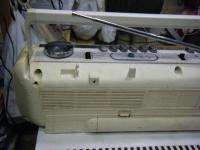 SANYO stereo radio double cassette recrder U4-W40(W)重箱石011