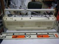 SANYO stereo radio double cassette recrder U4-W40(W)重箱石010