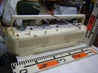 SANYO stereo radio double cassette recrder U4-W40(W)重箱石009