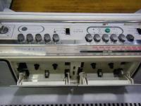 SANYO stereo radio double cassette recrder U4-W40(W)重箱石008