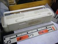 SANYO stereo radio double cassette recrder U4-W40(W)重箱石014