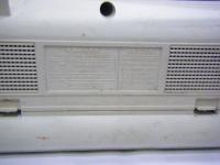 SANYO stereo radio double cassette recrder U4-W40(W)重箱石013