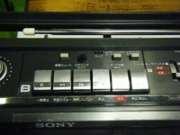SONY STEREO CASSETTE-CORDER CFS-W301重箱石10