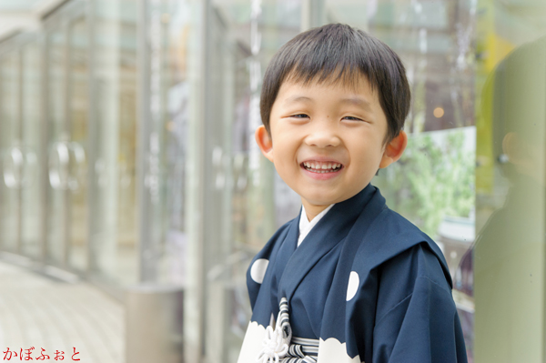 七五三の出張撮影(5歳)@東京都渋谷区 by 出張撮影「かぼふぉと」