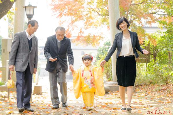 七五三の出張撮影(3歳)@朝霞市・岡氷川神社 by「かぼふぉと」
