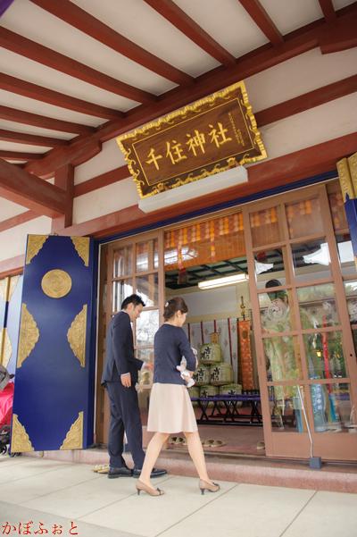 お宮参り・お食い初めの出張撮影@足立区・千住神社
