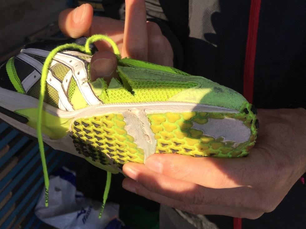 師匠の靴1