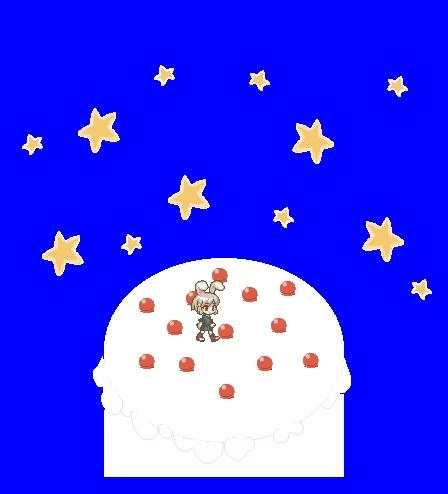 ケーキの部屋