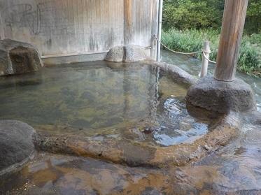 鉛温泉露天