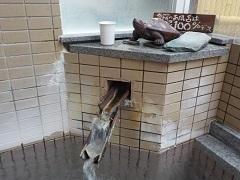 小野川亀屋湯口