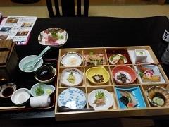浅虫宿屋つばき夕食