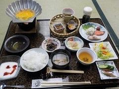浅虫宿屋つばき朝食