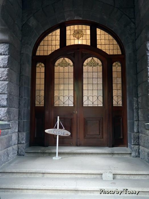 旧古川邸玄関