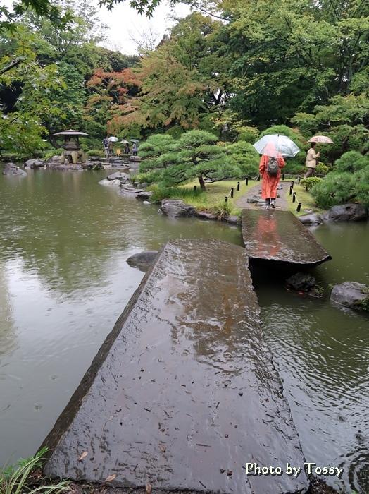 古河邸日本庭園 石橋