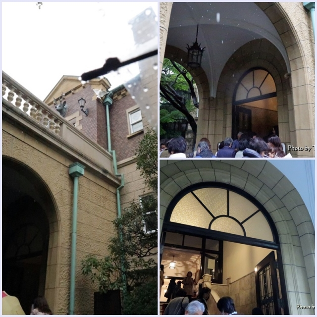 鳩山会館玄関