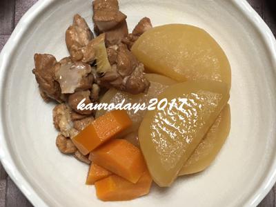 20170605_鶏肉と大根の酢煮