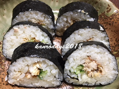 20180131_焼きサバ巻き寿司