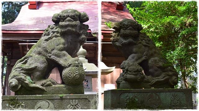 日枝神社・狛犬