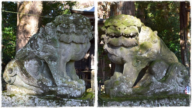 静神社・狛犬