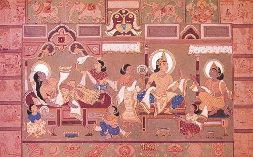 トリシャラー妃とシッダールタ王