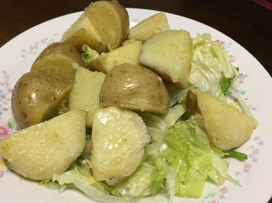ジャガイモのバター