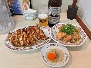 10/3 餃子の王将JR六甲道店